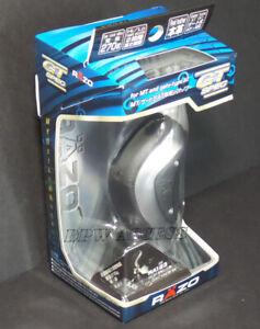 Razo Black Real Leather Shift Knob Lever Universal Manual M8 M10 M12 Thread JDM
