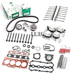 Engine Rebuild Overhaul Pistons Kit For VW Audi Golf R S3 TTS 2.0 TFSI CDL BWJ
