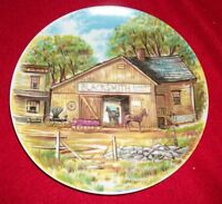 """The Blacksmith COLLECTOR PLATE - VINTAGE- 7 3/4"""" D"""
