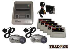 Super Nintendo Konsole SNES Konsole + Spiele Games mit Variationen Top!