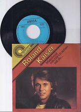 """ROLAND KAISER, Parfois Je voudrais déjà avec... 4 CHANSONS VG +/VG + 7"""" single 0952-8"""