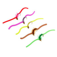 RED FLY FISHING FIIES Size 10 /& 12 6QTY GARDNER/'S DEPTH CHARGE