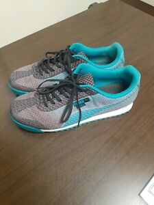 Puma Roma Shoes Teal Pink Mens size 8 Unisex women