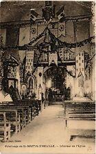 CPA  Pélerinage de St-Martin-d'Heuille - Intérieur de l'Eglise   (456418)