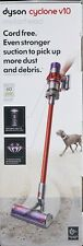 Dyson Cylone V10 Motorhead Cordless Vacuum Cleaner Red New and Sealed