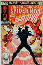 Marvel Team-Up Spider-Man #123 NM- Daredevil Solar 1982