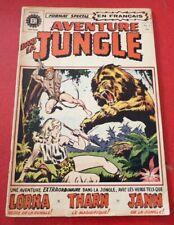 Soft Cover French Héritage Comic Aventure Dans la Jungle No.1 - Tharn