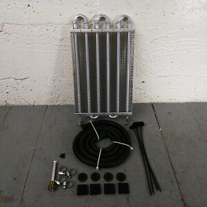 """1953-1986 Jeep CJ DJ 6-Row 13"""" Transmission Trans Oil Cooler hurricane amc cj-3b"""