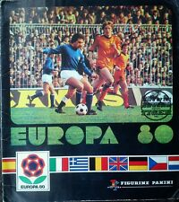 RARE Europa 80 (1980) European PANINI Sticker ALBUM **COMPLETE / KOMPLETT**