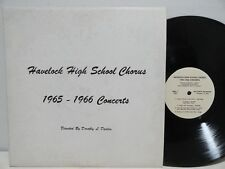 Havelock High School Chorus Havelock NC 1965-1966 Concerts LP Christmas Spring