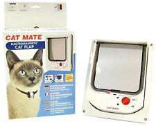 Cat Mate Electromagnetic Cat Flap Door White