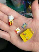 MINIATURE Pokemon Pikachu Happy Meal for Action Figures/Dollhouse 1/12