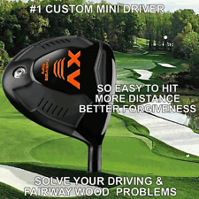 #1 MINI DRIVER TAYLOR FIT MADE ILLEGAL DISTANCE ACCURACY PGA HOT CUSTOM CLUB