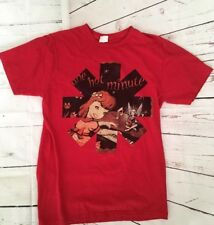 MENS RHCP Red hot chili peppers One Hot Minute T-SHIRT Fits SIZE Small Concert L