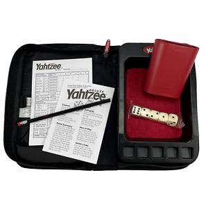 Hasbro Yahtzee Deluxe Travel Edition Game Folio 2003 100% Complete Unused