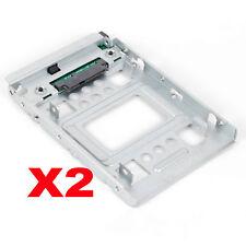 """2PCS SATA SSD 2.5"""" to 3.5"""" Adapter Bracket For HP Z220 Z420 Z620 Z820 668261-001"""