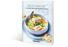 Tupperware neuf livre de recettes micro minute tome 2
