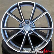 "18"" Wheels For Audi A8 A6 A4 A5 A6 VW Passat Tiguan Rims 18x8  5x112 Set of (4)"
