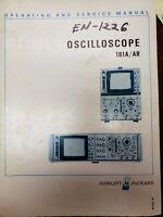 Oscilloscope 18a/ar Service Manual