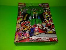 "DINO SUPER CHARGE Power Rangers : LE 11"" GREEN DINO CHARGE MEGAZORD NISP 2016"