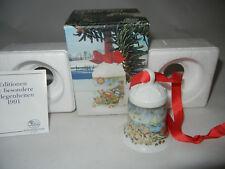 Hutschenreuther Weihnachtsglocke Porz. 1991 Nordpol  (meine Art.Nr. 1991-6)