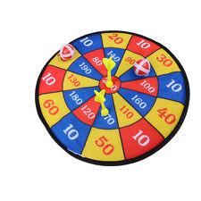14inch Fabric Dart Board Set Ball Target Game Throwing Sport Hobby Toy DSUK
