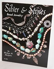 Silver & Stones Bead Jewelry by Barbara McGuire No. 5295 Booklet Excellent