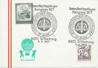 A 1975/8 6 SST JUSTIZ / RECHT / RICHTER: 1150 WIEN, 5640 BAD GASTEIN, 8010 GRAZ