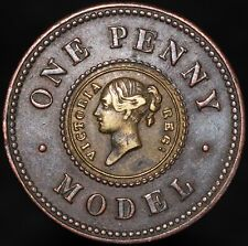 More details for victoria one penny model coin | coins | km coins