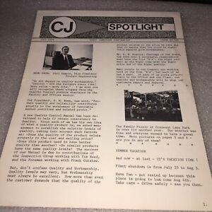 CORRY JAMESTOWN CORP. CJ SPOTLIGHT NEWSLETTER JULY 1974, CORRY,PA
