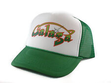 vintage Galaga video game Trucker Hat mesh hat snapback hat green