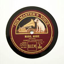 """COMEDIAN (COMEDY) HARMONISTS """"Marie, Marie"""" (E+) HMV B-3862 [78 RPM]"""