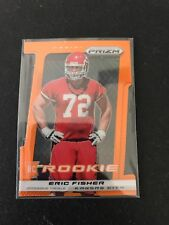 ERIC FISHER 2013 Panini Prizm Prizms Orange Die-cut RC Rookie 18/50