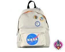 Distintivi ufficiale della NASA SPAZIO Grigio della Scuola Zaino Zaino Scuola Borsa Nuova con etichetta