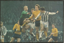 Football Autograph Graham Lovett Signed Newspaper Picture & Bio Sheet F480