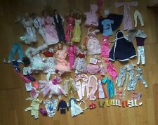 Genuine Vintage Barbie 70s and 80s Clothes Shoe Doll Bundle Peaches and Cream
