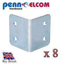 4 Hole 30mm Corner Braces for flightcases and furniture x 8