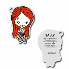 Sally Nightmare Before Christmas Trackable Travel Bug for Geocaching Unactivated