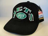 New York Jets NFL Super Bowl Champions Vintage Snapback Hat Cap American Needle
