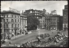 cartolina ROMA piazza barberini-fontana del bernini