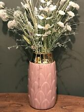 Antique Style Art Deco Vase Blue Green or Pink - Home Lounge Dining Room Kitchen