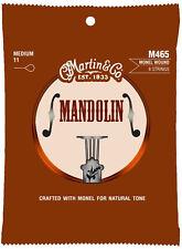 Martin M465 Monel Wound Mandolin Strings - Medium 11-40 2 packs