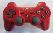 Sony OEM PS3 Dualshock 3 Controller Red For PlayStation 3 Very Good 5Z
