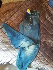 Brand New G-star Raw Loose Denim Tapered Jeans Size W31L32