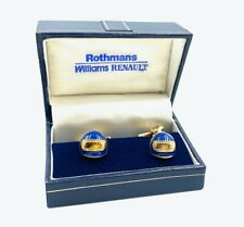 Rothmans Williams Renault Cufflinks - Boxed