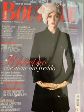 La Mia Boutique Magazine November 11/2013 Italian Language Dressmaking Patterns