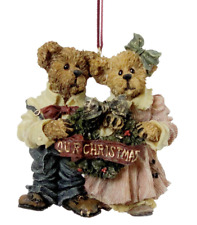 """Boyds Bears """"Grenville & Beatrice"""" First Christmas Together Ornament"""