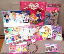 DISNEY PRINCESS~ BAG OF GOODIES~ Lot of 11 ITEMS ~ALL BRAND NEW~ VERY CUTE