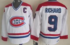 Canadiens White Jersey Maurice Richard M, L, XL, 2XL, 3XL