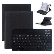 iPad 2/3/4 Case with Removable Wireless Keyboard PU Leather Folio Smart Cover